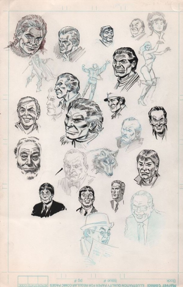Character Studies by Don Heck