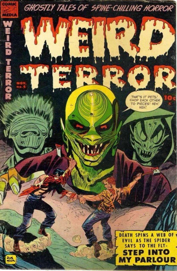 Weird Terror - 1950s horror work by Don Heck
