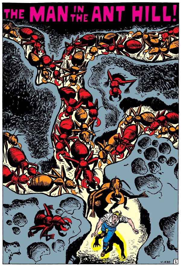 """The Man in the Ant Hill"", Tales to Astonish #27"