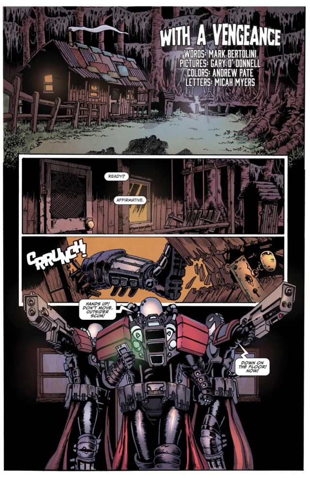 100% Biodegradable Issue 21 - With a Vengeance