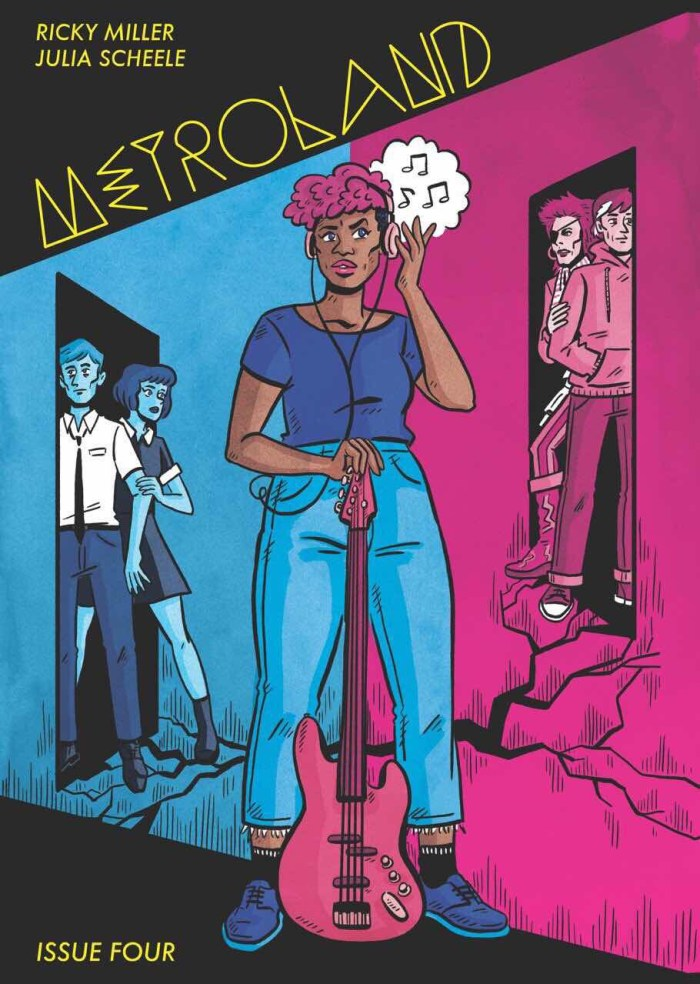 Metroland Issue Four by Ricky Miller and Julia Scheele