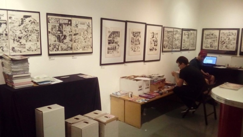 Treasury of British Comics - Orbital Comics Exhibition June 2018 - The Beatles Story