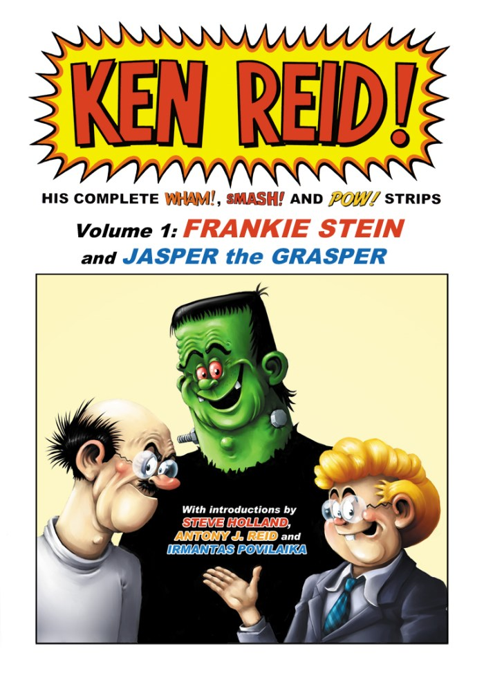 The POWer Pack of Ken Reid Volume One - Final Cover