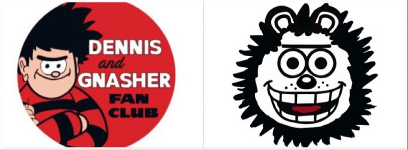 Dennis and Gnasher Fan Club 2018 - Badges