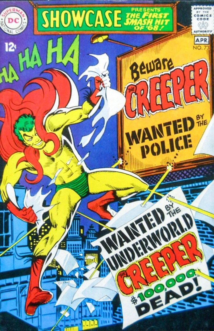 DC Showcase #73 - featuring the Creeper by Steve Ditko