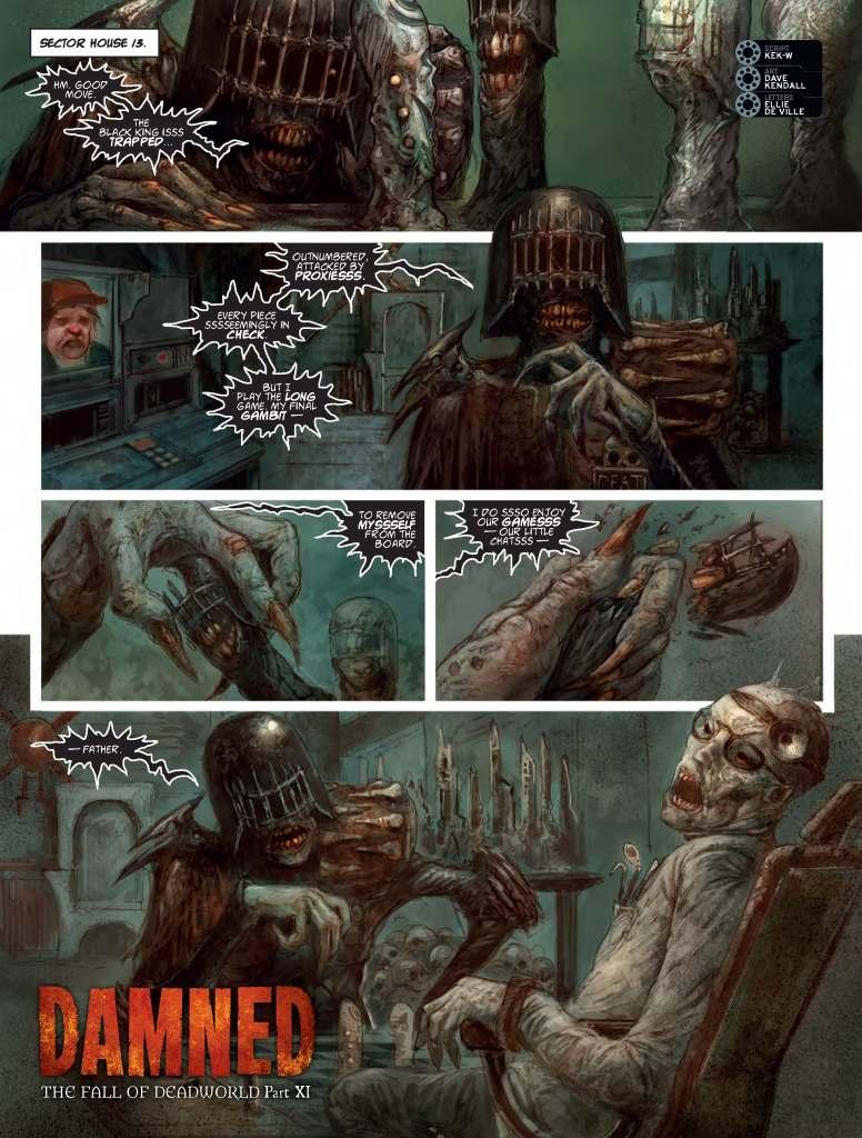 2000AD Prog 2091 - Deadworld