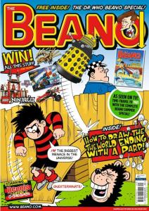 Beano - with Daleks - cover dated 15h May 2013