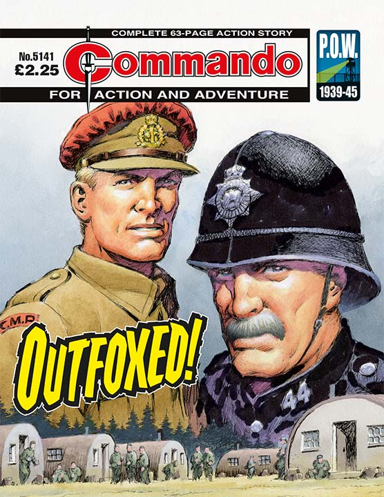Commando 5141: Action and Adventure: Outfoxed!