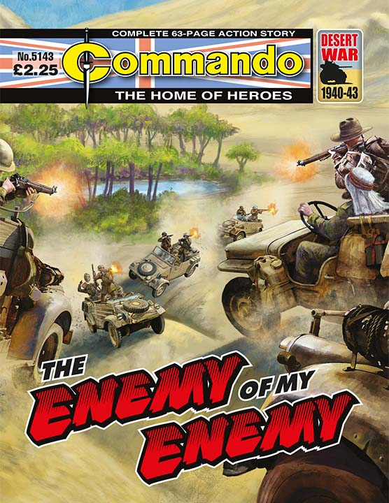 Commando 5143: Home of Heroes: The Enemy of my Enemy
