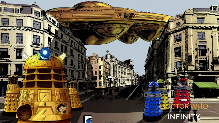 Doctor Who Infinity - The Dalek Invasion of Time