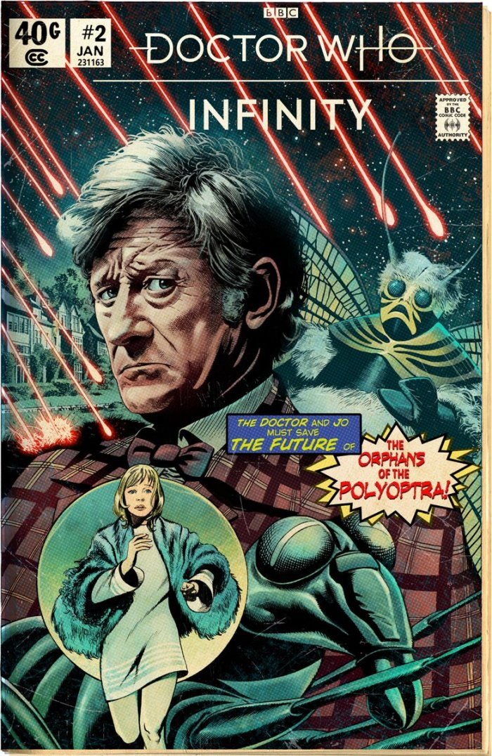 Doctor Who Infinity - The Orphans of the Polyoptra - Cover