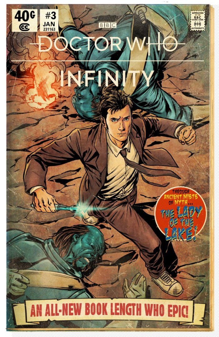 Doctor Who - Infinity - Lady of the Lake - Cover