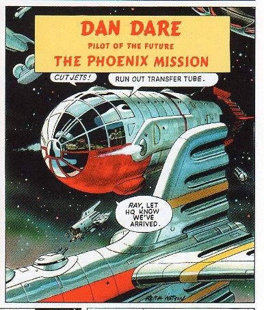 Dan Dare by Keith Watson