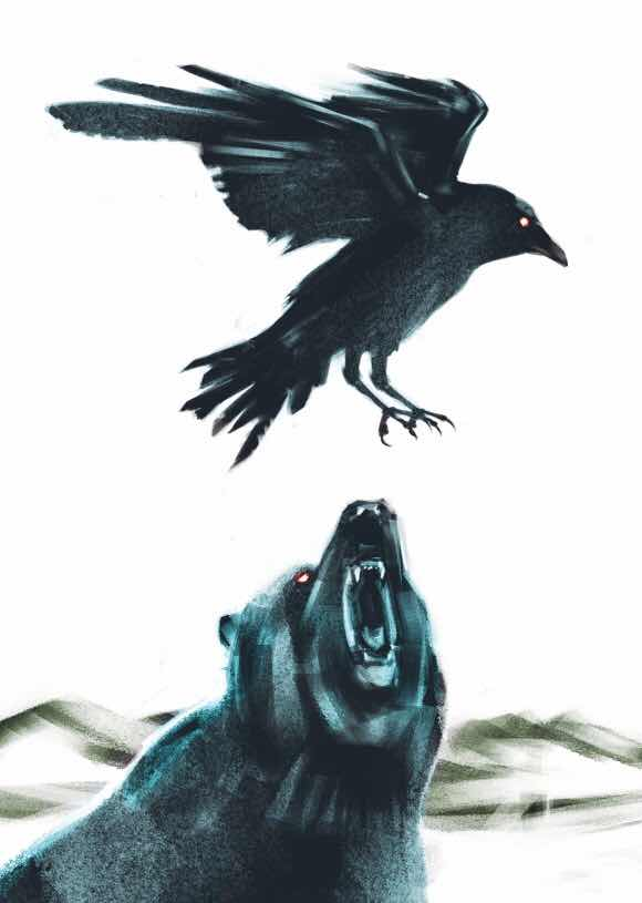 Death and the Bear - A Modern Fable by Paul Tonner