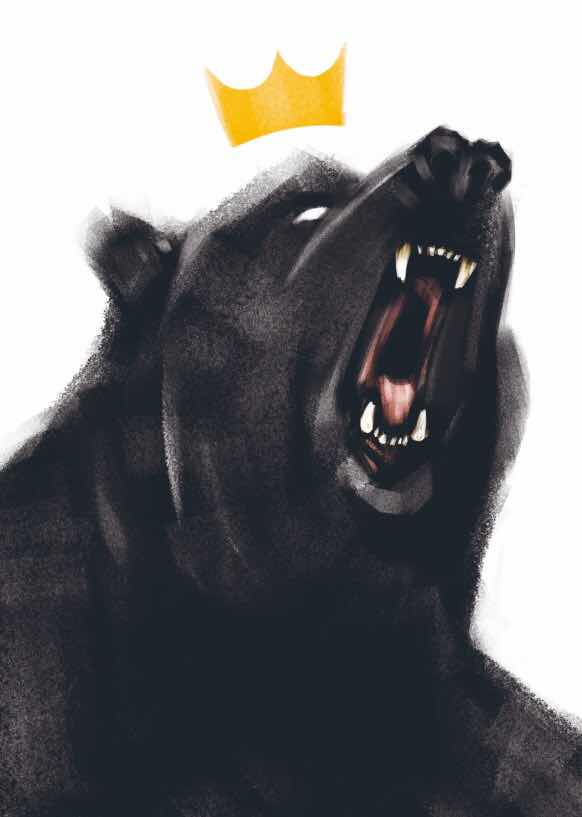 Death and the Bear - A Modern Fable by Paul Tonner - Cover