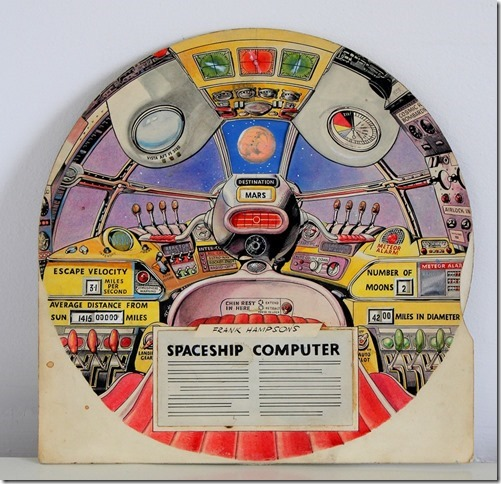 Frank Hampson's Spaceship Computer