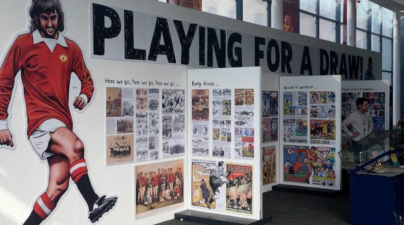 Playing for a Draw - National Football Museum Exhibition 2018