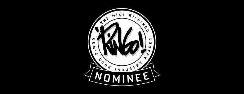 Mike Wieringo - Ringo Awards Nominee Banner