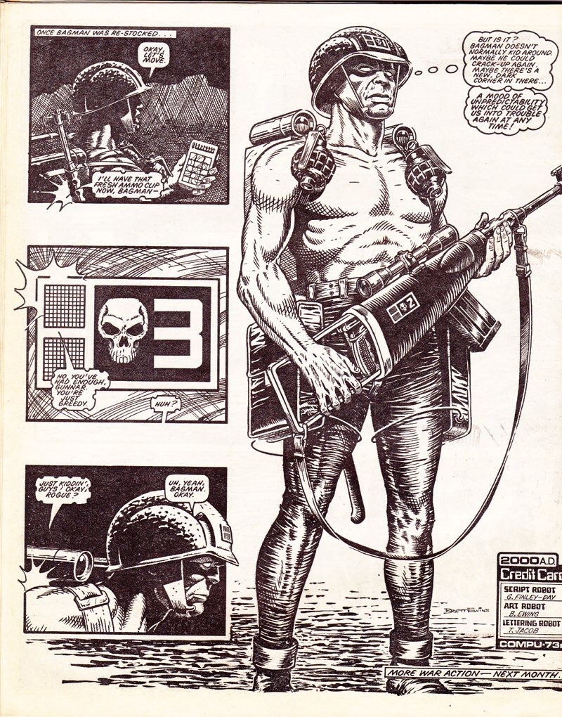 Rogue Trooper by Brett Ewins