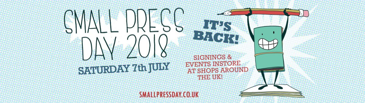Don't Forget! Small Press Day is this Saturday!