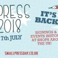 Small Press Day 2018 Banner