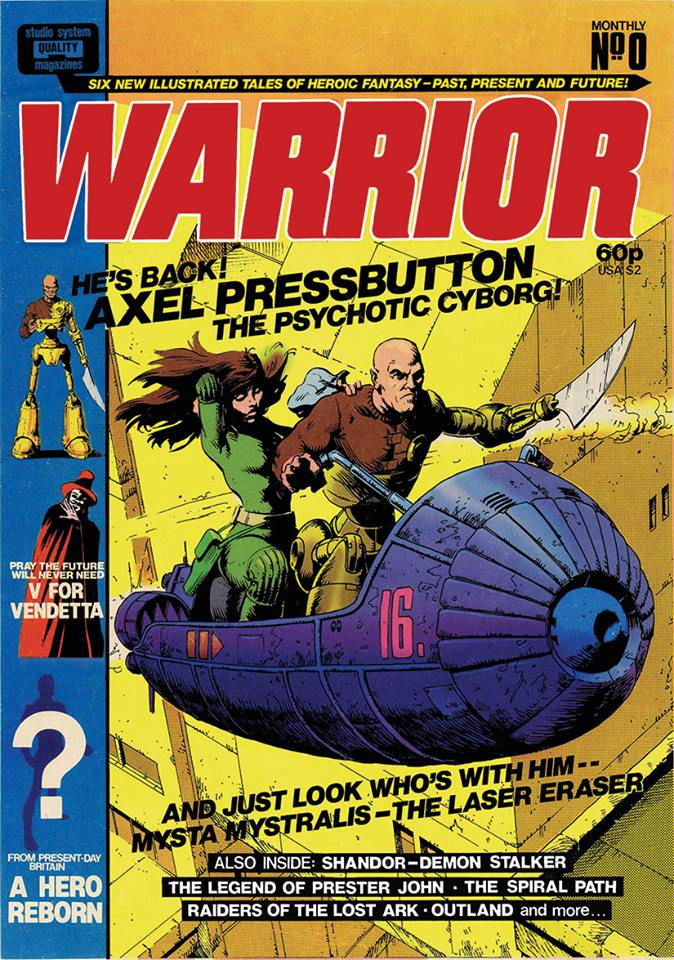 Warrior #9 Dummy Cover