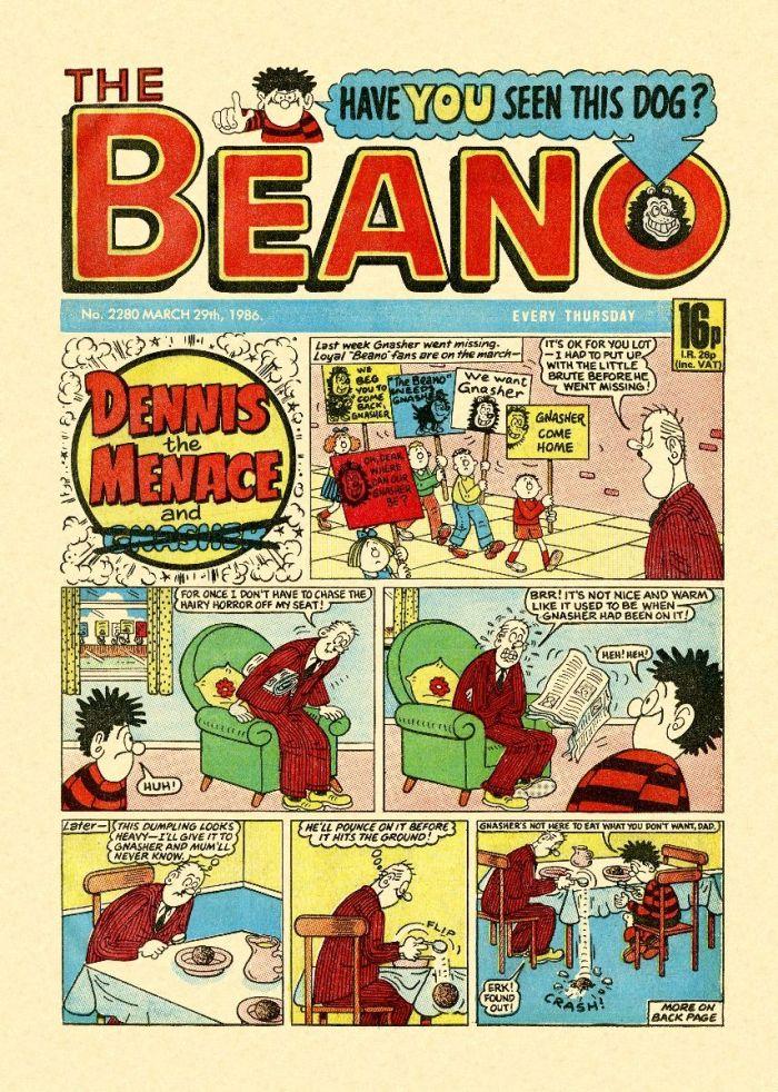 Beano Comic - 1987
