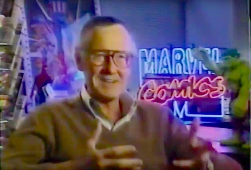 Stan Lee on ITV's The South Bank Show, broadcast in the mid 1990s