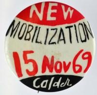 New Mobilization Anti-Vietnam War Badge