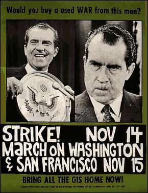 1969 Strike! March on Washington Poster