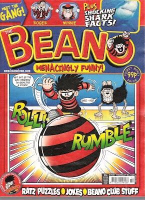 Beano cover by Jim Hansen (Jimmy Hansen)
