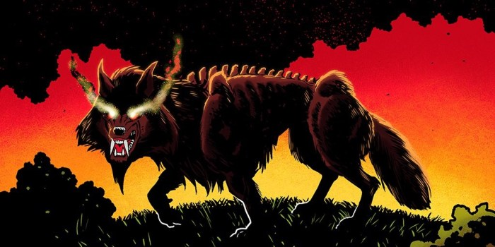 The Burning Black: Legend of Black Shuck - Promotional Art