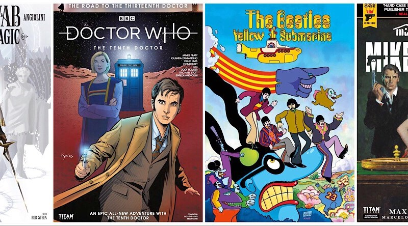 Doctor Who, Yellow Submarine and more the focus of  Titan Comics San Diego Comic-Con plans