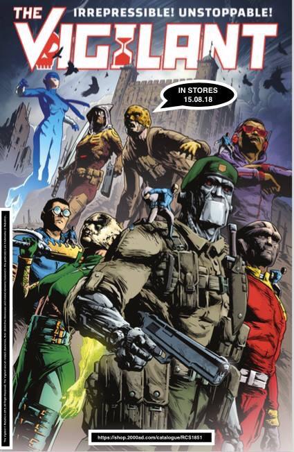 The Vigilant promotional poster