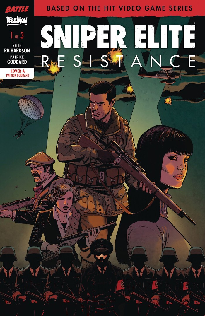 Sniper Elite Resistance #1 Cover A