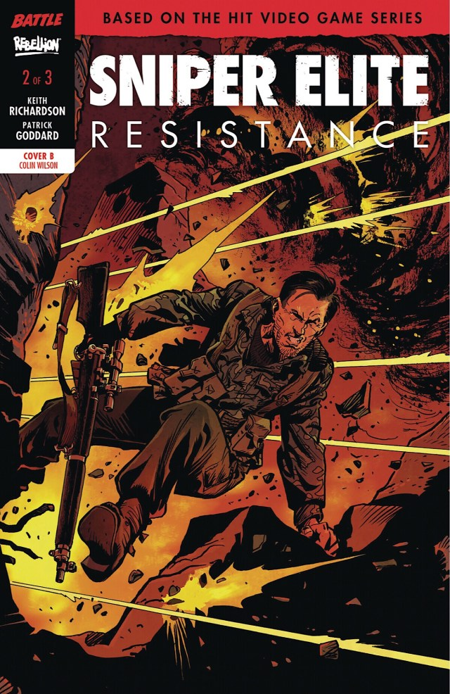 Sniper Elite Resistance #2 Cover B