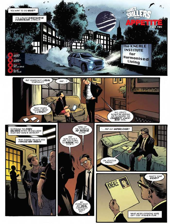 2000AD 2094 - Tharg's 3rillers Present » Appetite