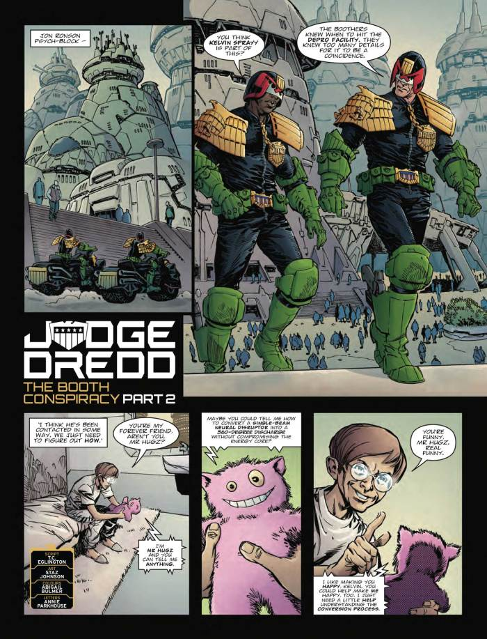 2000AD 2096 - Judge Dredd » The Booth Conspiracy (Part 2)