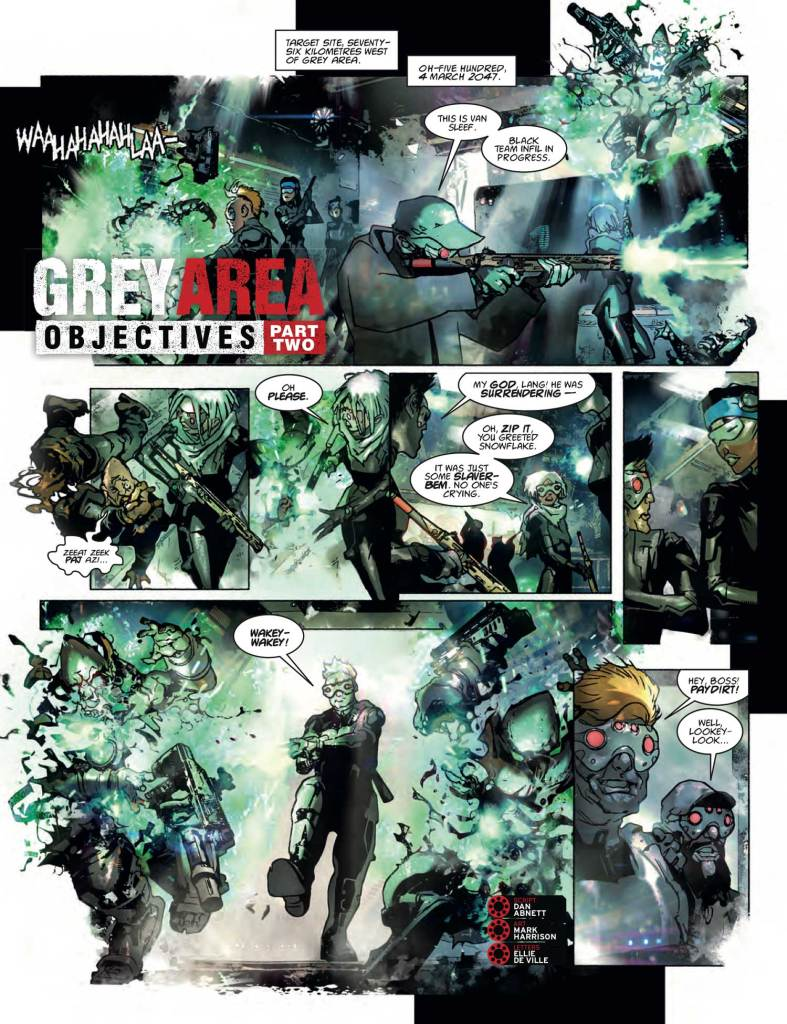 2000AD 2096 - Grey Area » Objectives (Part 2)