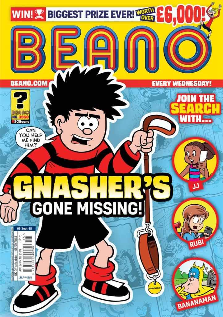 Beano 3950 - Cover