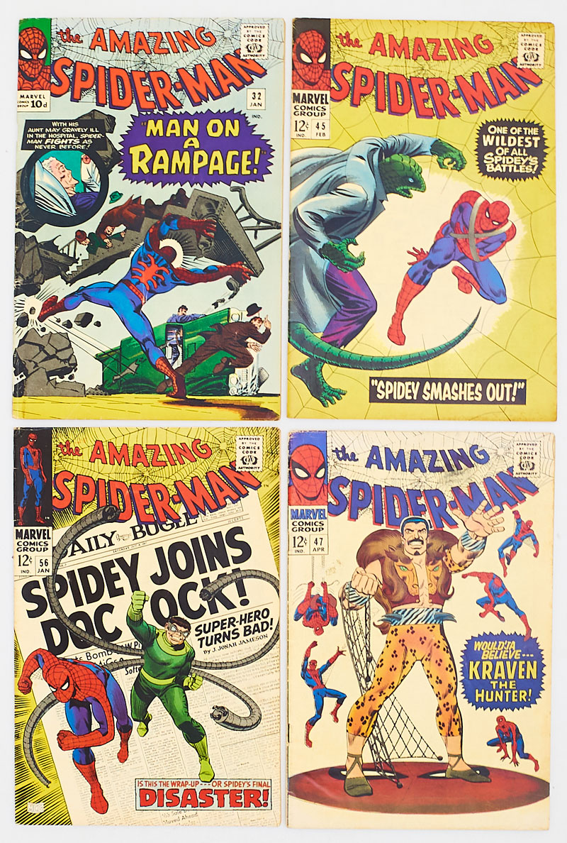 Amazing Spider-Man (1966-68) 32, 45, 47, 56