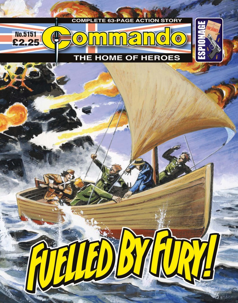 Commando 5151: Home of Heroes: Fuelled by Fury!