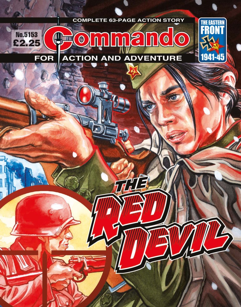 Commando 5153: Action and Adventure: The Red Devil