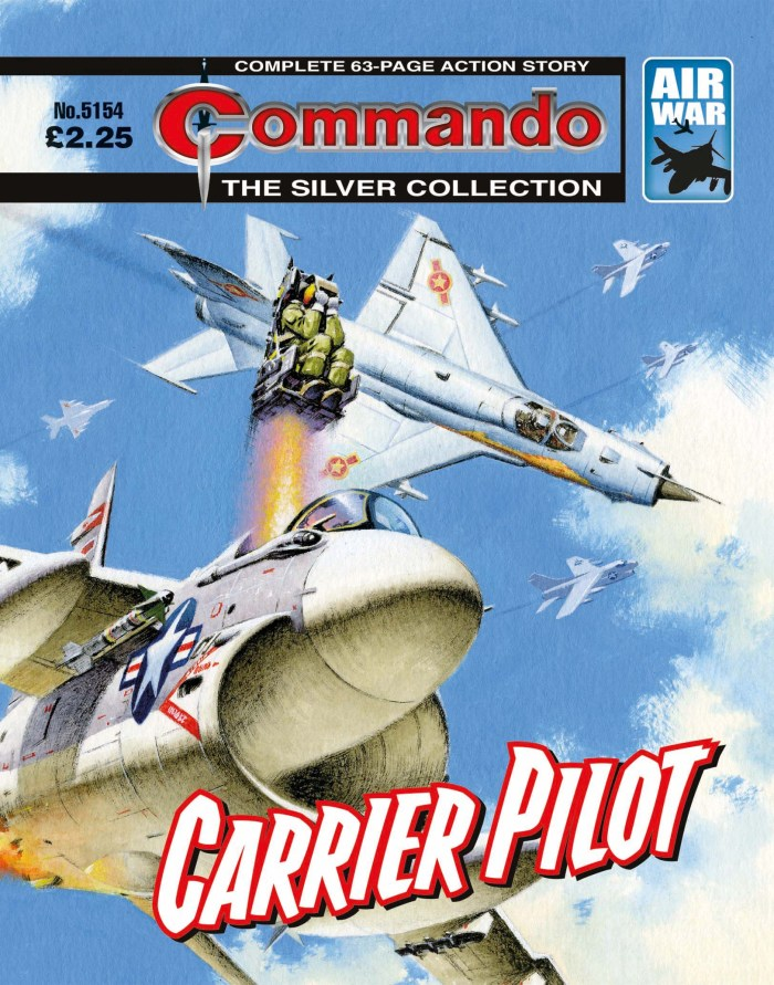 Commando 5154: Silver Collection: Carrier Pilot
