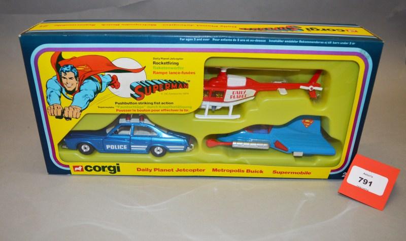 Superman Corgi Toys Gift Set 21 set