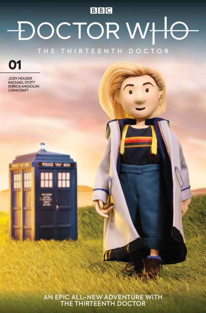 Doctor Who: The Thirteenth Doctor #1 - Cover J - Puppet Cover
