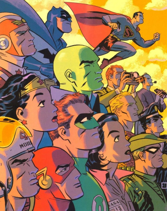 DC Heroes by Darwyn Cooke