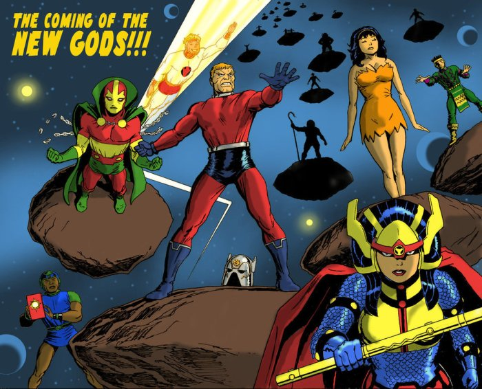 DC New Gods by Darwyn Cooke