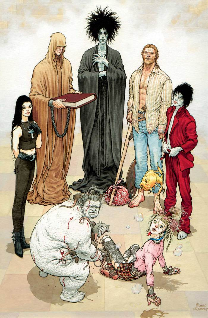 Frank Quitely - Sandman; Endless Nights