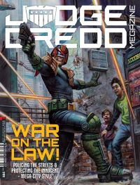 Judge Dredd Megazine 399 - Cover